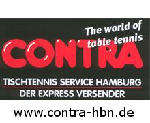 Contra Tischtennis Service