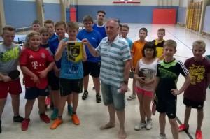 Freundschaftsspiel gegen Schüler aus Heldburg