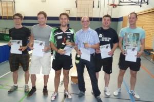 Sieger in der Klasse Herren Doppel