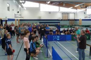 Eröffnung der 23. Stadtmeisterschaft des TTV Hildburghausen